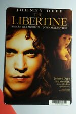 THE LIBERTINE JOHNNY DEPP MORTON MALKOVCH MINI POSTER BACKER CARD (NOT a movie )