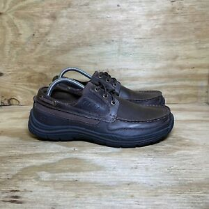 Skechers Relaxed Fit: Expected - Gembel Shoes (64114), Men's size 9, Dark Brown