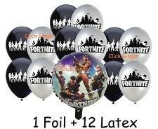 Fortnite Foil & Latex Balloons Hero Soldier (13pcs) Party Decoration