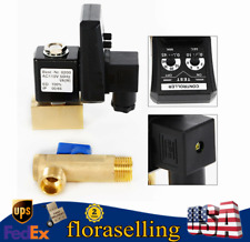 Automatic Electronic Timed Air Compressor Tank 2 Way Drain Valve Ac110v 12