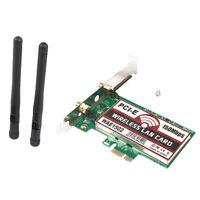 Wireless WIFI PCI-E Adapter Built-in WLAN Card for Desktop Computer&Antenna