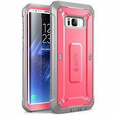HOT Full-body Protective Rugged Holster Case Accesories for Galaxy S8 Plus Pink