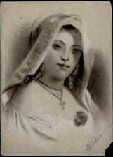 Dessin du XIXe siècle et avant signés portrait, autoportrait