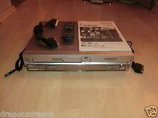 Panasonic dmr-e75v DVD/VHS-Recorder, Incl. FB, BDA & cavi, 2j. GARANZIA