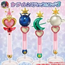 Bandai Sailor Moon Gashapon Capsule Wand Complete Set 3
