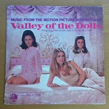 "Soundtrack Lp: ""Valley of the Dolls"", 1967, (S4196), Sharon Tate cover, Vg+"