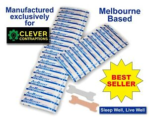 AirBoost Nasal Strips 200 Medium Size Anti Snore by Clever Contraptions