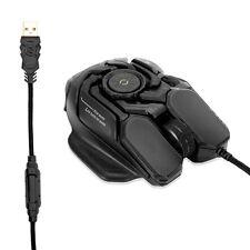 FMGAMING RGB Gaming Mouse DPI 8200 Ergonomic for PC Laptops Computer Pro Gamer