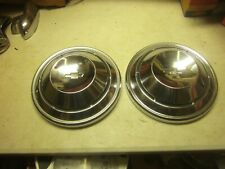 2) Dogdish Poverty Hubcaps 68-69 Camaro 68-70 Chevelle 1968-1970 Chevy II Nova
