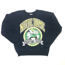 Notre Dame Fighting Irish Navy Blue Long Sleeve Pullover Size Xl