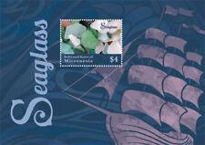 Micronesia- Seaglass Stamp - Souvenir Sheet MNH
