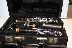 Selmer  Klarinette Schwarz Mit Koffer mit Mundstück