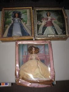 Barbie Portrait Collection LOT Duchess Emma Mademoiselle Isabelle Lady Camille