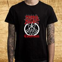 Morbid Angel Death Metal Covenant Logo Men's Black T-Shirt Size S M L XL 2XL 3XL