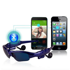 Wireless Glasses Bluetooth MP3 Motorcycle Bike Sun Glasses Headset For Phone