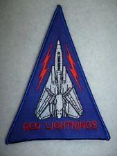 VF-194 Red Lightnings F-14 Tomcat Triangle Patch Formation Patch