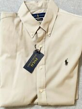 Camicia Uomo Polo Ralph Lauren cotone Beige M