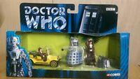 CORGI TY96201 Dr Who 40th Anniversary Set incl. Bessie, Dr Who, Dalek & K9.