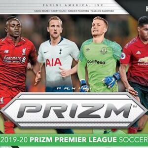 2019-20 Panini Prizm English Premier League EPL Prizms Blue Soccer PFL 1-150