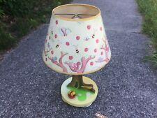 1979 Vintage Winnie the Pooh Nursery Table Lamp Night Light - Original