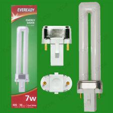 20 x 7w G23 2Pin CFL Bajo Consumo PL-S PLS Tubo Bombilla 4000k Blanco frío
