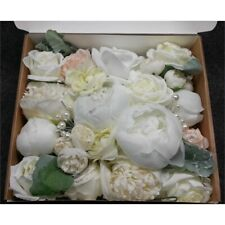 Ling's Moment Natural Sage Green Artificial Peony Flower Box Wedding Decor Set
