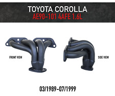 Headers / Extractors for Toyota Corolla 4AFE 1.6L AE90, AE92, AE101 (1989-1999)