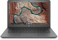 "🔥2021 HP 14"" WLED HD Chromebook AMD A4-9120C/4GB/32GB eMMC/Radeon R4 Gray🔥"