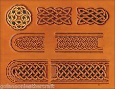 Celtic Belt & Buckle Craftaid (76611-00)-Embossing,Leathercraft