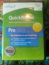 INTUIT QUICKBOOKS PRO 2013 FOR WINDOWS FULL RETAIL USA VERSION