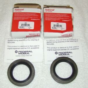 Lot of 2 National Oil Seals 9912 Oil Seal