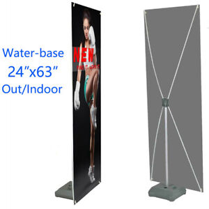 "Premium X-Frame Banner Display Stand 24""x63"" and 31 ½""x71"" - NEW ( Frame ONLY)"