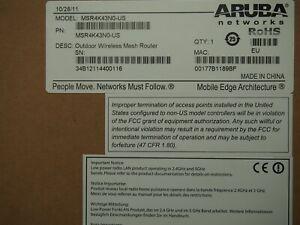 New HP MSR4K43N0 JY398A Aruba MSR4000 Outdoor Wireless Mesh Router 802.11a/b/g/n