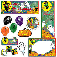 Halloween Children's Witch Ghost Banners Decorations Balloons Party Supplies