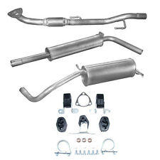 Exhaust Complete Skoda Fabia 1.4i -16V Hatchback Notchback + Assembly Kit