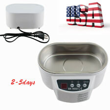 Mini Ultrasonic Cleaner Cleaning Jewelry Glasses Circuit Board Watch CD Lens FDA