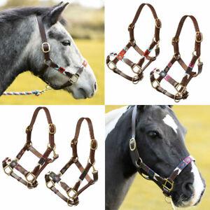 Rydale Horse Head Collar Headcollars Horses Equestrian Equipment Polo 4 Colours
