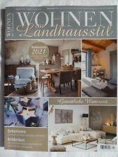 Zeitschrift Wohnen im Landhausstil 1/2021 Dezember Januar