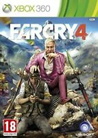 Far cry 4 Microsoft XBOX 360 - Excellent - 1st Class Delivery