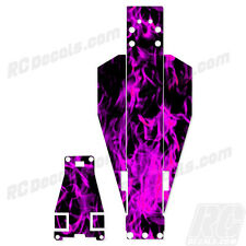 Traxxas Rustler Or Bandit Chassis Protector Pink Flames TRA3722