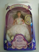 Disney's Beauty and the Beast The Wedding Musical Belle Barbie Doll 1993