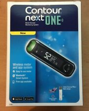 Bayer Contour Next One Blood Glucose Monitoring System/Monitor/Meter+Test Strips