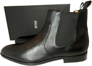 Hugo Boss Boots Black Chelsea C-Hubot  Ankle Booties 11 Slip On Booties 44
