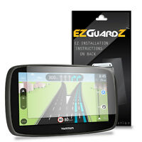 2X EZguardz LCD Screen Protector Skin Cover HD 2X For TomTom Go 50 (Ultra Clear)