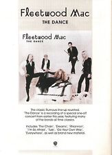 FLEETWOOD MAC The Dance UK magazine ADVERT/Poster/clipping 11x8 inches