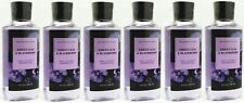 6 Bath & Body Works VIOLET LEAF & BLACKBERRY Shower Gel Wash Shea Vitamin E