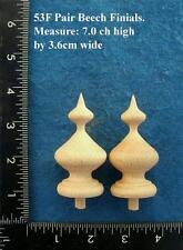 COPPIA di orologio/mobili ornamenti stile 53 F
