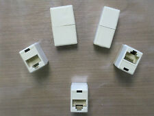 5x RJ45 Ethernet Straight Coupler Network Cable Joiner Female Socket Connector