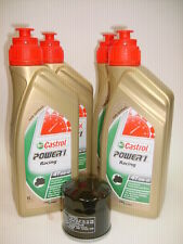 ENTRETIEN 4L HUILE CASTROL POWER 1 RACING 10W40+FILTRE DUCATI 848 Streetfighter