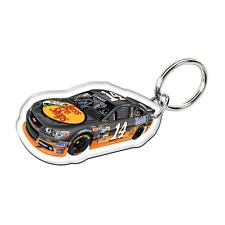 Tony Stewart Wincraft #14 Bass Pro Shops Acrylic Key Ring Mirrored FREE SHIP